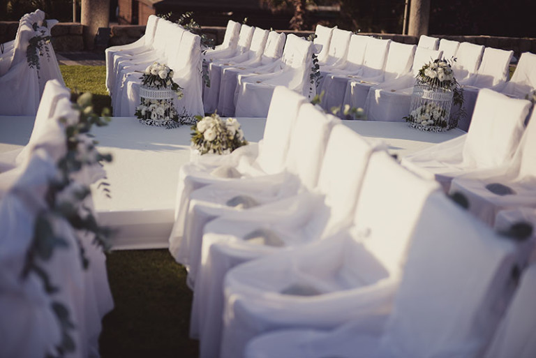 wedding chuppah seats olla designs